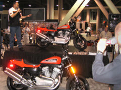 Harley Davidson XR1200 Launch